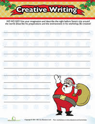 christmas descriptive writing worksheet com third grade holidays seasons worksheets christmas descriptive writing