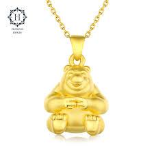 get ations hung fung boonie bears series of cute 3d hard gold pendant golden bear iiè ³é