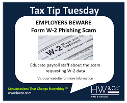 Employee Change Form Awesome Tax Tip Tuesday 4848488 HWCo CPAs Advisors