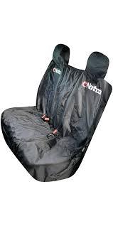 winplus wetsuit seat covers waterproof car triple rear seat cover black