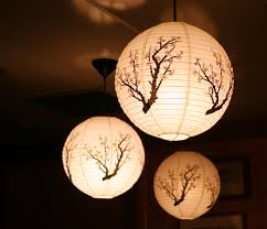 japanese paper lamps photo 1