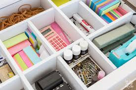 home office organizing idea for desks