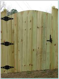 how to install a wood fence and gate