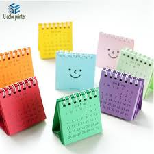 Small Calender Cute Small Table Calendar Offset Printing For Office Students Buy
