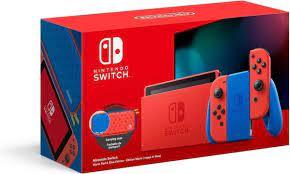 Nintendo Switch Console - Rood / Blauw ...