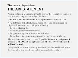 Research Problem Statement What Is Problem Statement In Research Proposal Travelsouth Us