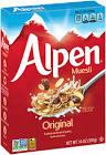 alpine muesli
