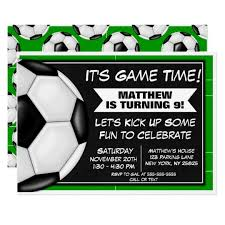 Soccer Party Invite Soccer Birthday Party Invitation Soccer Fans