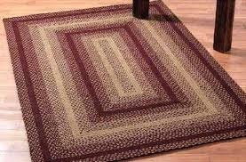 rectangular braided rugs 4x6 rug vintage