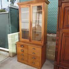 Kitchen Bookcase Pine Kitchen Cabinet Antique Hutch Antique Furniture Display