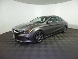 2018 Used Mercedes-Benz CLA CLA 250 4MATIC Coupe at Inskip's ...