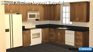 Baker Boys Cabinet Builder Good Prices Kitchen Layout- simple L ...
