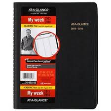 At A Glance Weekly Planner Appointment Book Academic Year 14 Months July 2015 August 2016 6 75 X 8 75 Inch Page Size 70 958 05 Check Back
