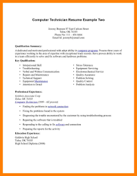13 Computer Repair Resume Mla Cover Page