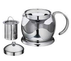 <b>Чайник заварочный</b> с ситечком, 1.25 л, стекло, <b>Kuchenprofi</b>