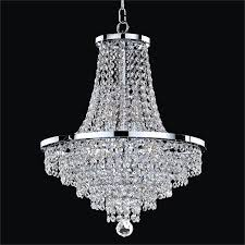 crystal empire chandelier vista 628ad16sp 7c