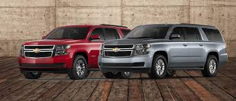 2018 tahoe and 2018 suburban
