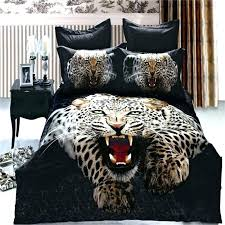 mens comforter sets full young bedding lifelike snow leopard bedding set queen size pure cotton animal mens comforter sets
