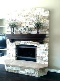 fireplace stone cleaner stone tile fireplace surround