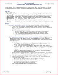 17 Qa Tester Resume
