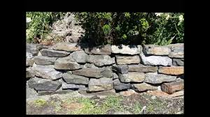 Small Picture How to build rock garden wall YouTube