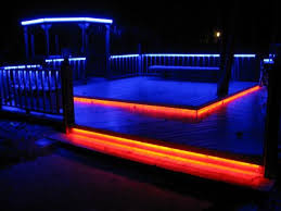 picture of led deck lighting in color deck lighting h85 lighting