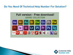 adobe toll free help desk number usa ppt