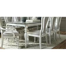 white dining room table. White And Gray Dining Table Antique Magnolia Manor . Room