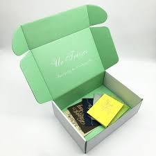 corrugated cardboard shipping mailer printed packaging gift box shipping box