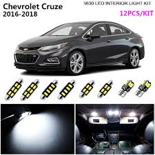 What Is The Dome Light In A Car Details About 12pcs Hid Super White 6000k Interior Dome Light Kit Led Fit 2016 2018 Chev Cruze