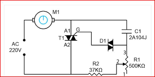 ceiling fan circuit diagram capacitor ceiling ceiling fan regulator motor speed control circuit diagram on ceiling fan circuit diagram capacitor