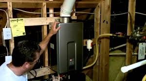 Gas Hot Water Heater Vent Interesting Rheem Tankless Water Heater Venting Wall Vent