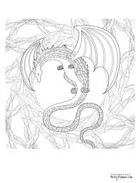 753abe30148af81b28703994ce7f7214 11 free printable adult coloring pages coloring, wings and adult on free printable pictures of dragon gift tags