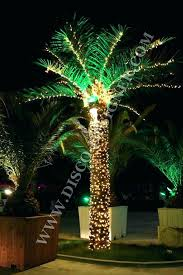 outdoor lighted trees palm tree outdoor light artificial palm tree led lighting fake lighted trees for