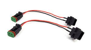 led hid halogen light wiring solutions harnesses kc hilites jeep jk 10 18 h16 to dt fog light adapters 63072