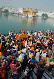 sri guru teg bahadur martyrdom day nagar kirtan at golden temple  nagar kirtan gtb golden temple