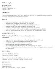 Resume Examples Nursing Interesting Sample Labor And Delivery Nurse Resume Labor And Delivery Resume