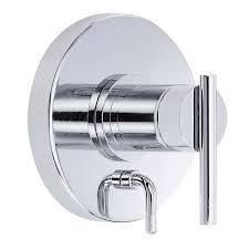 danze parma pressure balance valve trim kit with diverter chrome free modern bathroom