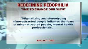 pedophilia now classified as a sexual orientation neon tommy