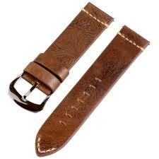 brown vintage leather bands dapper