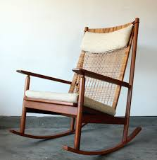 Image of: Danish Modern Rocking Chair Style
