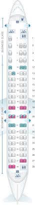Seat Map Air Canada Bombardier Crj705 Air Canada