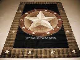 5 8 5393 x 7396 designer texas lone star western cowboy texas star round area rug