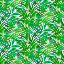 Palm Leaf Pattern Adorable Seamless Pattern With Tropical Palm Leaves By Tukkki GraphicRiver