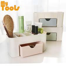 msia mytools multi function 6 grid skin care make up storage box green makeup organizer