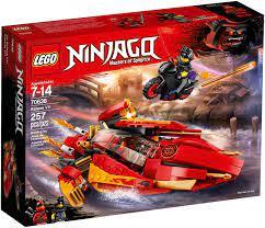 Nơi bán Đồ chơi lắp ráp Lego Ninjago 70638 - Siêu Thuyền Katana V11 giá rẻ  nhất tháng 08/2021