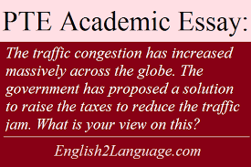 essay the traffic congestion has increased massively across the globe