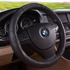 china 13 15 inch antislip cow leather steering wheel cover china steering wheel covers auto steering wheel covers