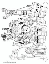 Lego Movie Coloring Pages The Characters