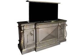tv hideaway furniture. Hand Carved Custom Cabinet Troni Hidden Tv Lift Furniture Hideaway T